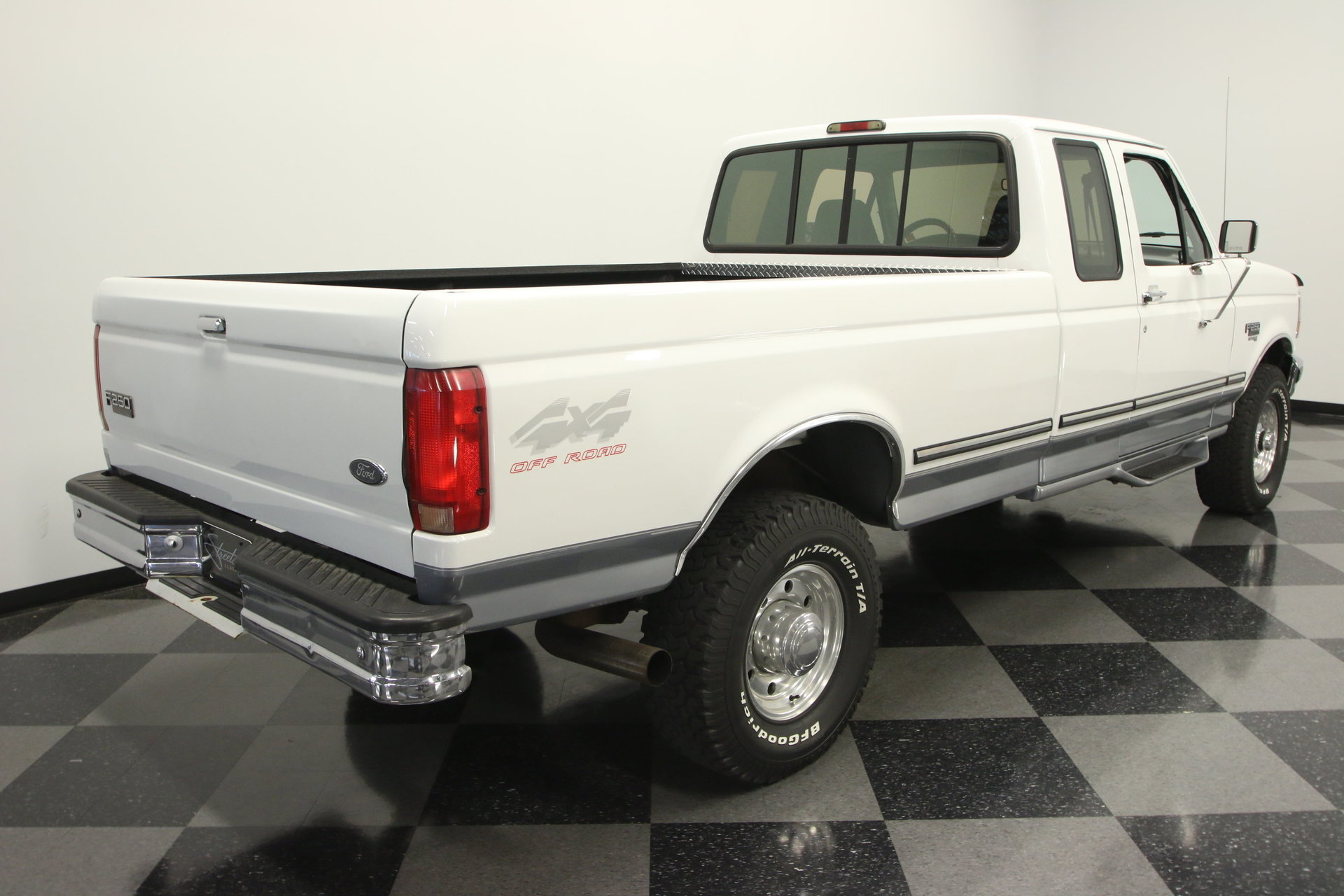 1997 Ford F 250 Streetside Classics The Nations Trusted Classic 1955 F100 White 4x4 View 360