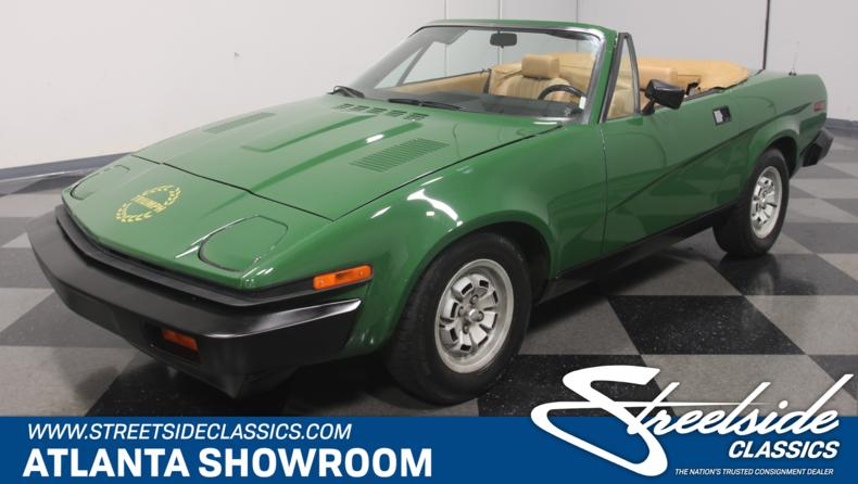 For Sale: 1980 Triumph TR7