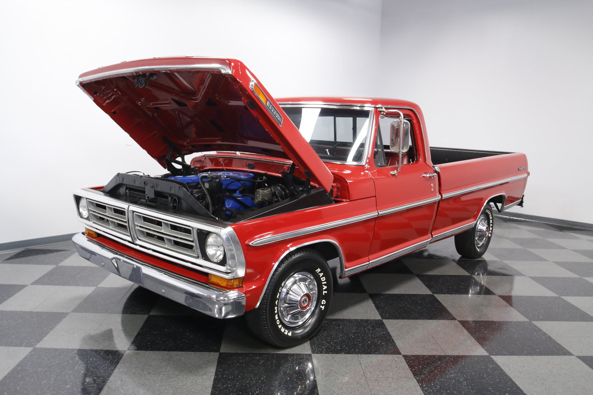 1972 Ford F 100 Streetside Classics The Nations Trusted Classic 1955 F100 Headliner View 360