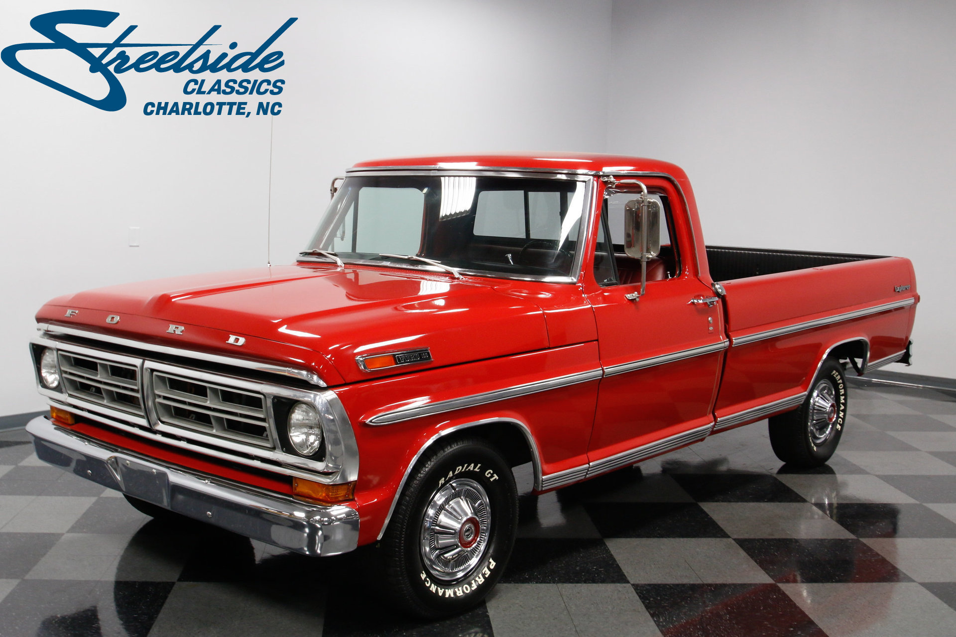 1972 Ford F 100 Streetside Classics The Nations Trusted Classic 1955 F100 Headliner Play Video