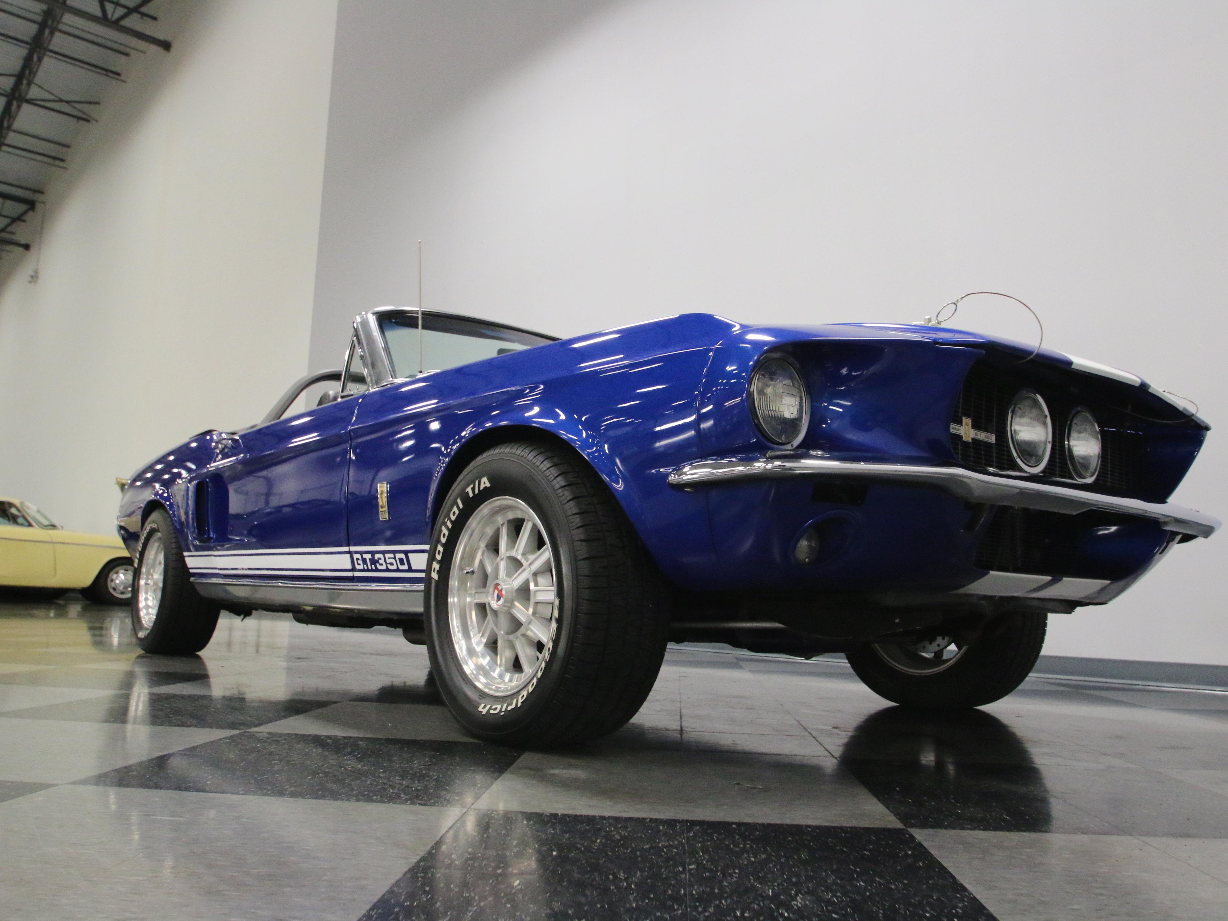 0719-NSH | 1967 Shelby GT350 Convertible | Streetside Classics