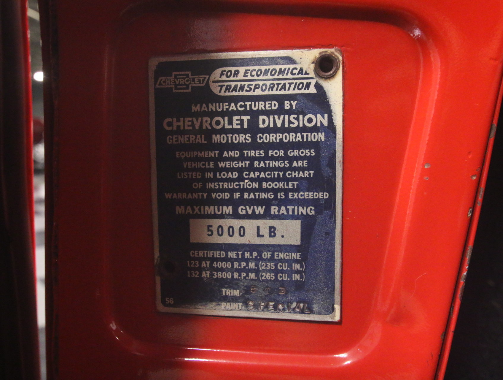 1957 Chevrolet 3100 Streetside Classics The Nations Trusted Chevy Color Chart View 360