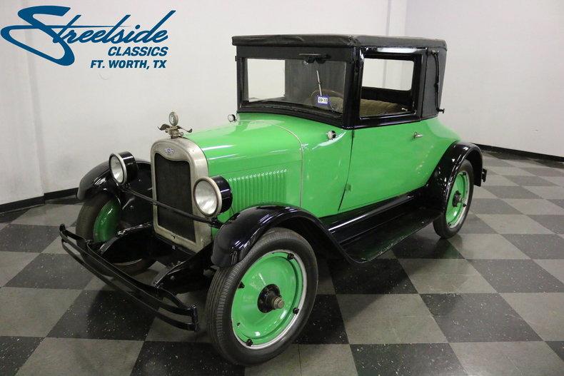 For Sale: 1926 Chevrolet Superior Coach