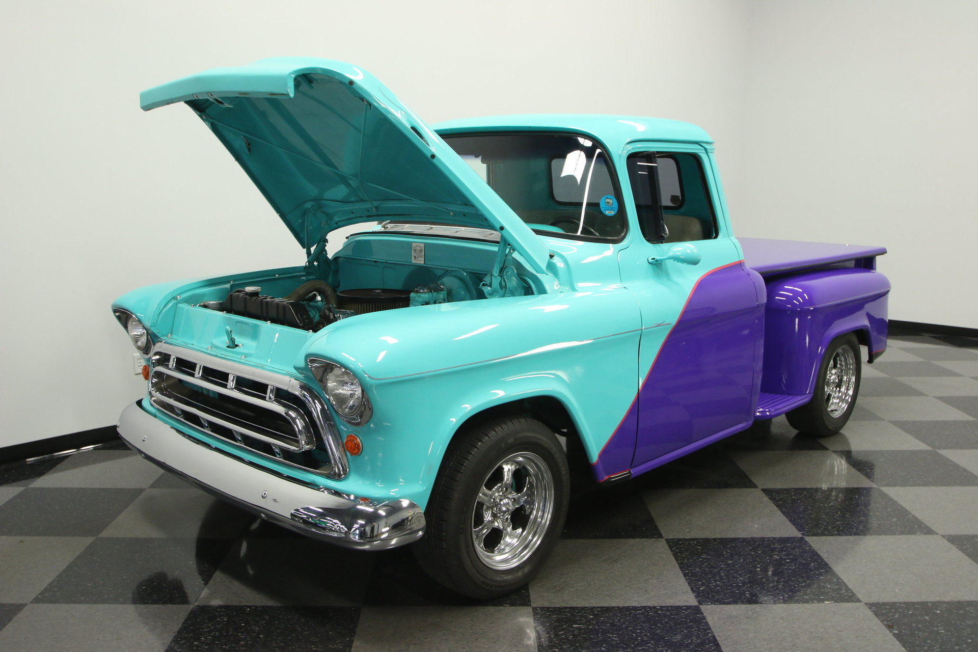 1957 Chevrolet 3100 Streetside Classics The Nations Trusted Chevy Truck Paint Colors For Sale Spincar View 360