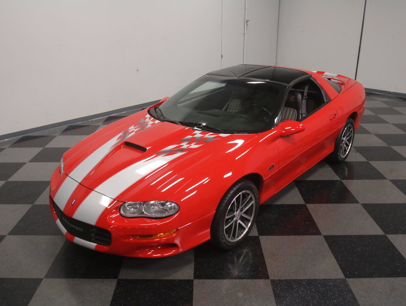 2002 chevrolet camaro ss 35th anniversary slp edition for sale 73203 mcg. Black Bedroom Furniture Sets. Home Design Ideas