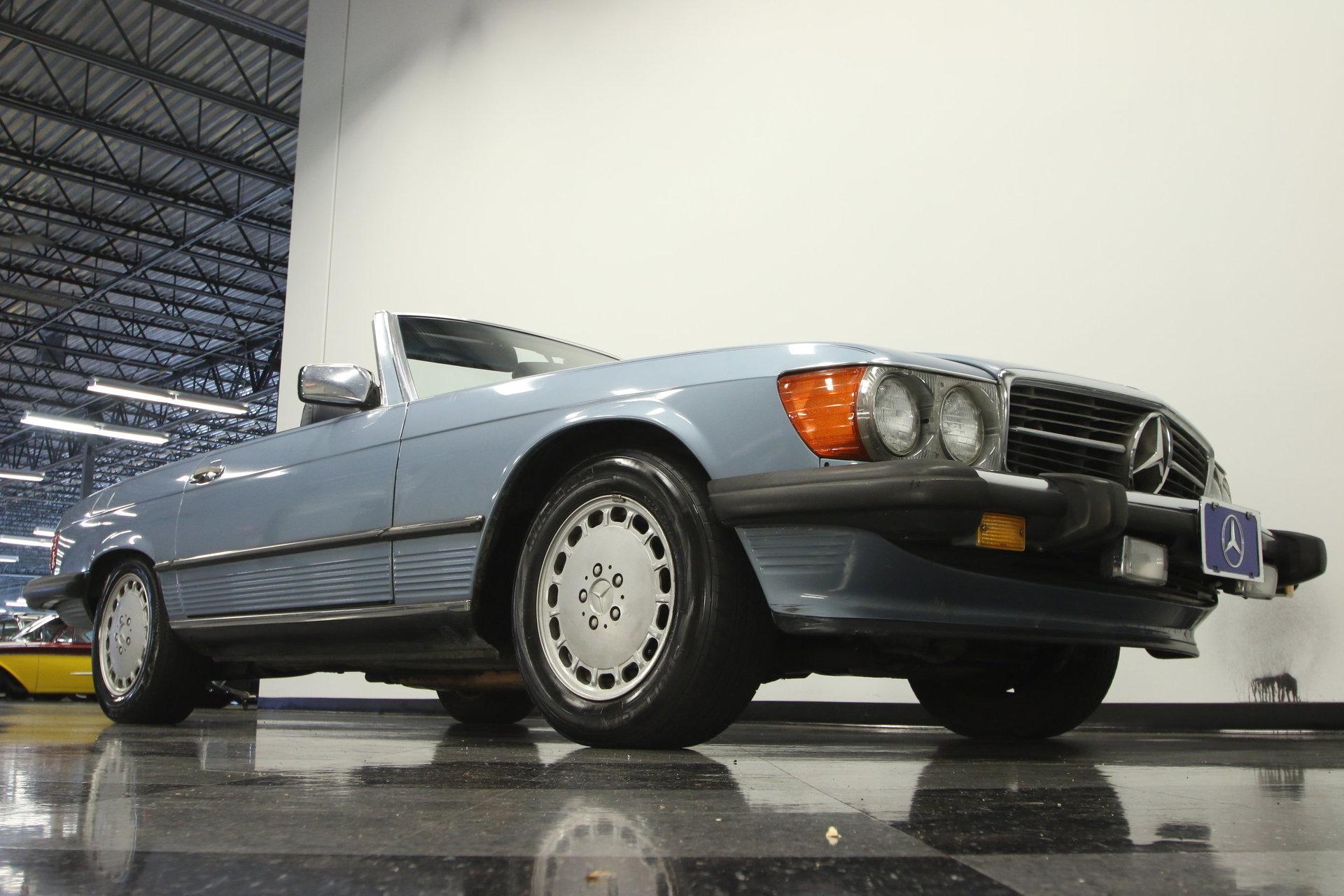 1987 Mercedes Benz 560sl For Sale 74743 Mcg
