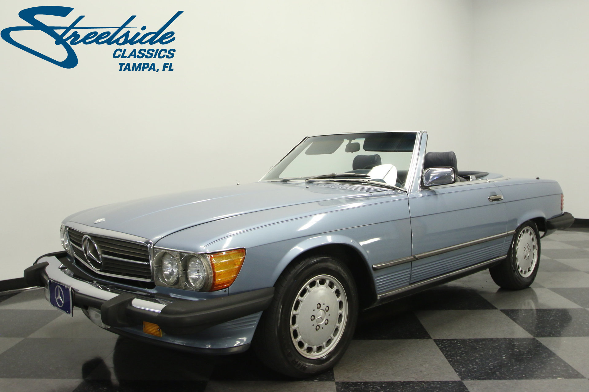 1987 mercedes benz 560sl my classic garage for Mercedes benz 1987 for sale
