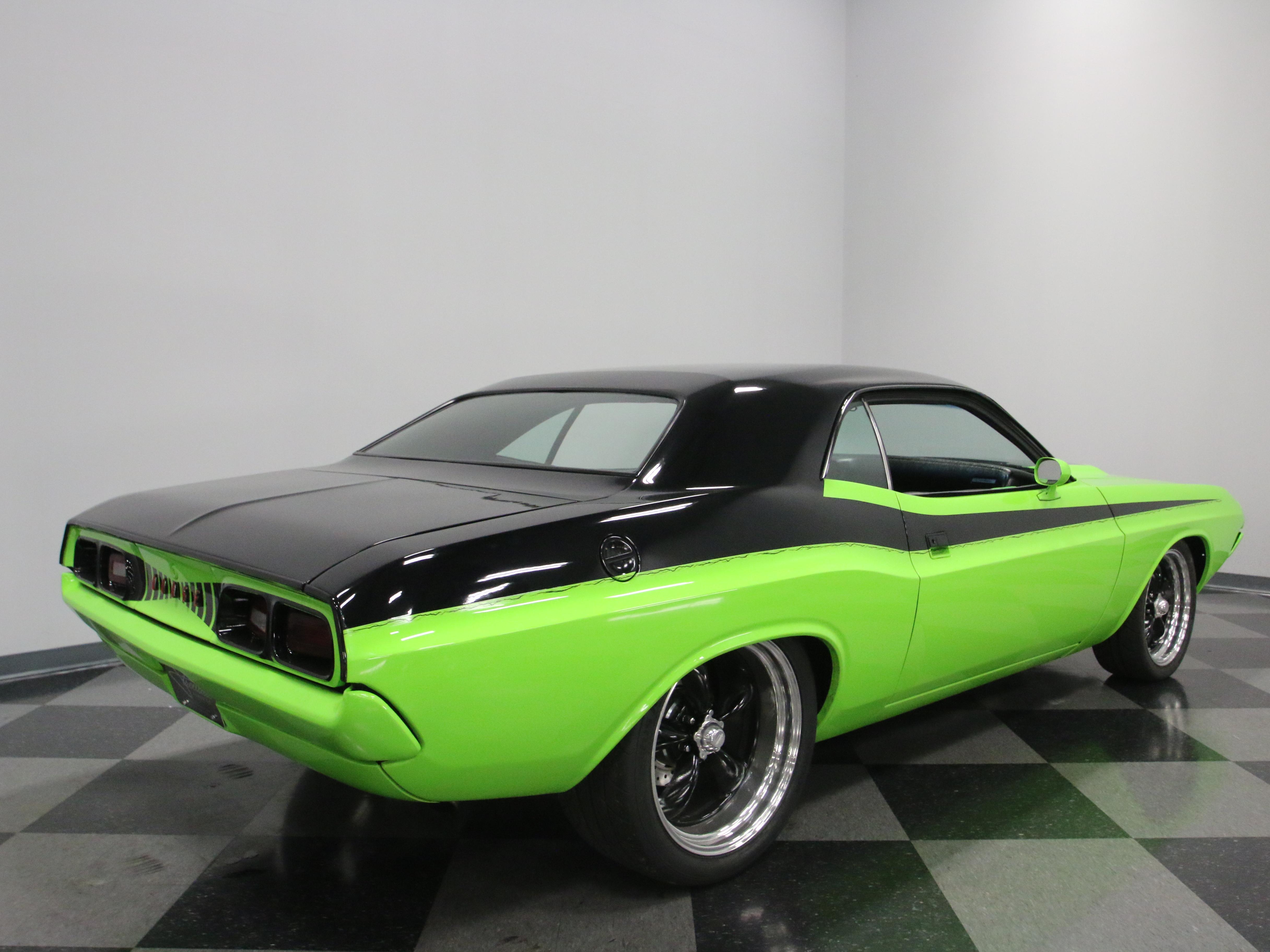 0722-NSH | 1973 Dodge Challenger Restomod | Streetside Classics