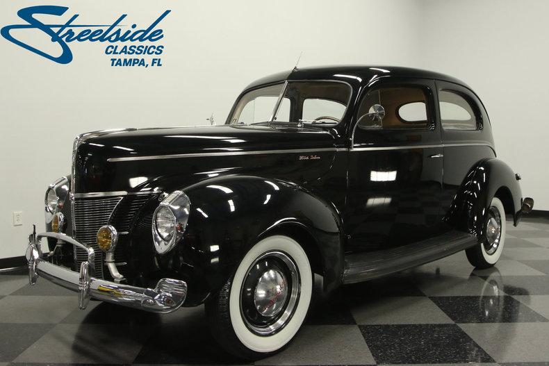 For Sale: 1940 Ford 2 Door Sedan