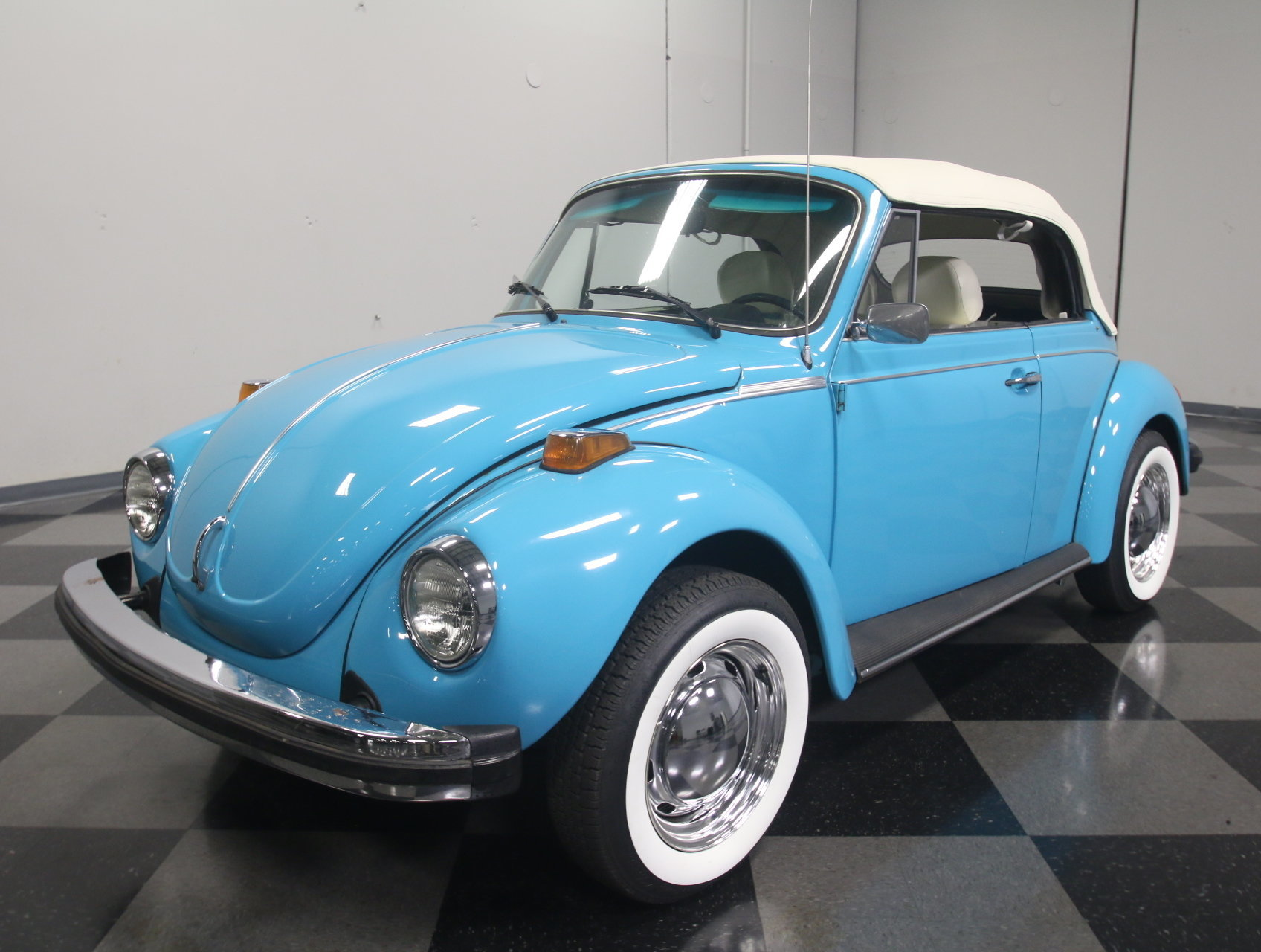 1976 volkswagen beetle convertible for sale 73344 mcg. Black Bedroom Furniture Sets. Home Design Ideas