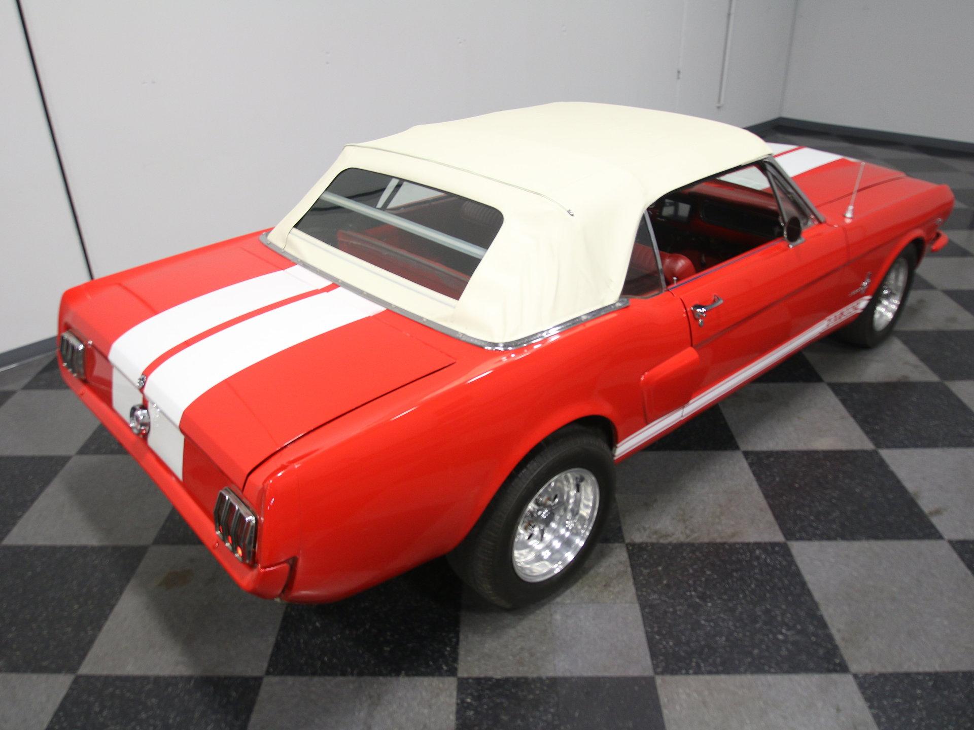 4021-ATL | 1966 Ford Mustang Convertible Resto-Mod | Streetside Classics