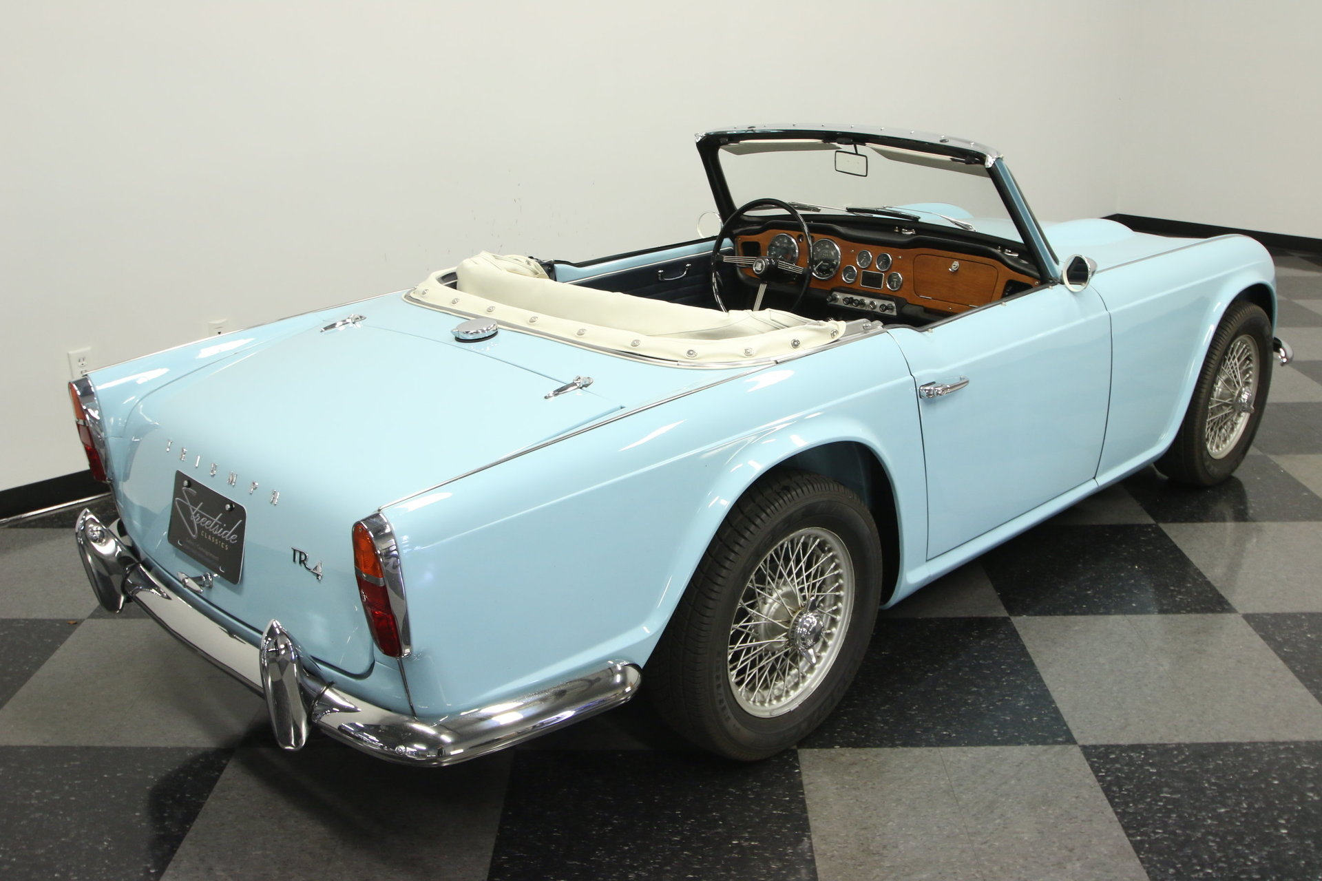 1964 triumph tr4 for sale 73643 mcg. Black Bedroom Furniture Sets. Home Design Ideas