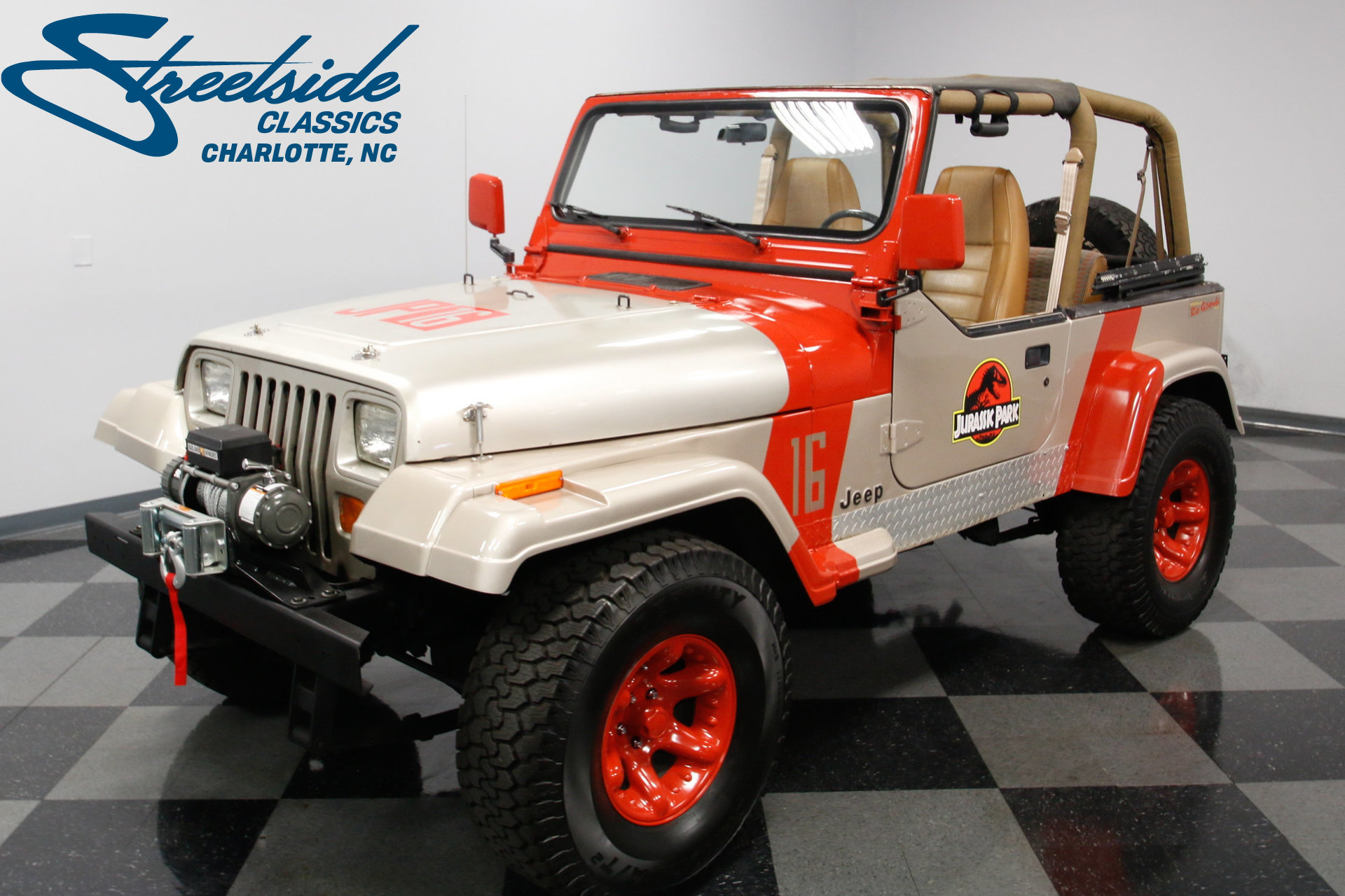 1995 jeep wrangler streetside classics the nation 39 s trusted classic car consignment dealer. Black Bedroom Furniture Sets. Home Design Ideas