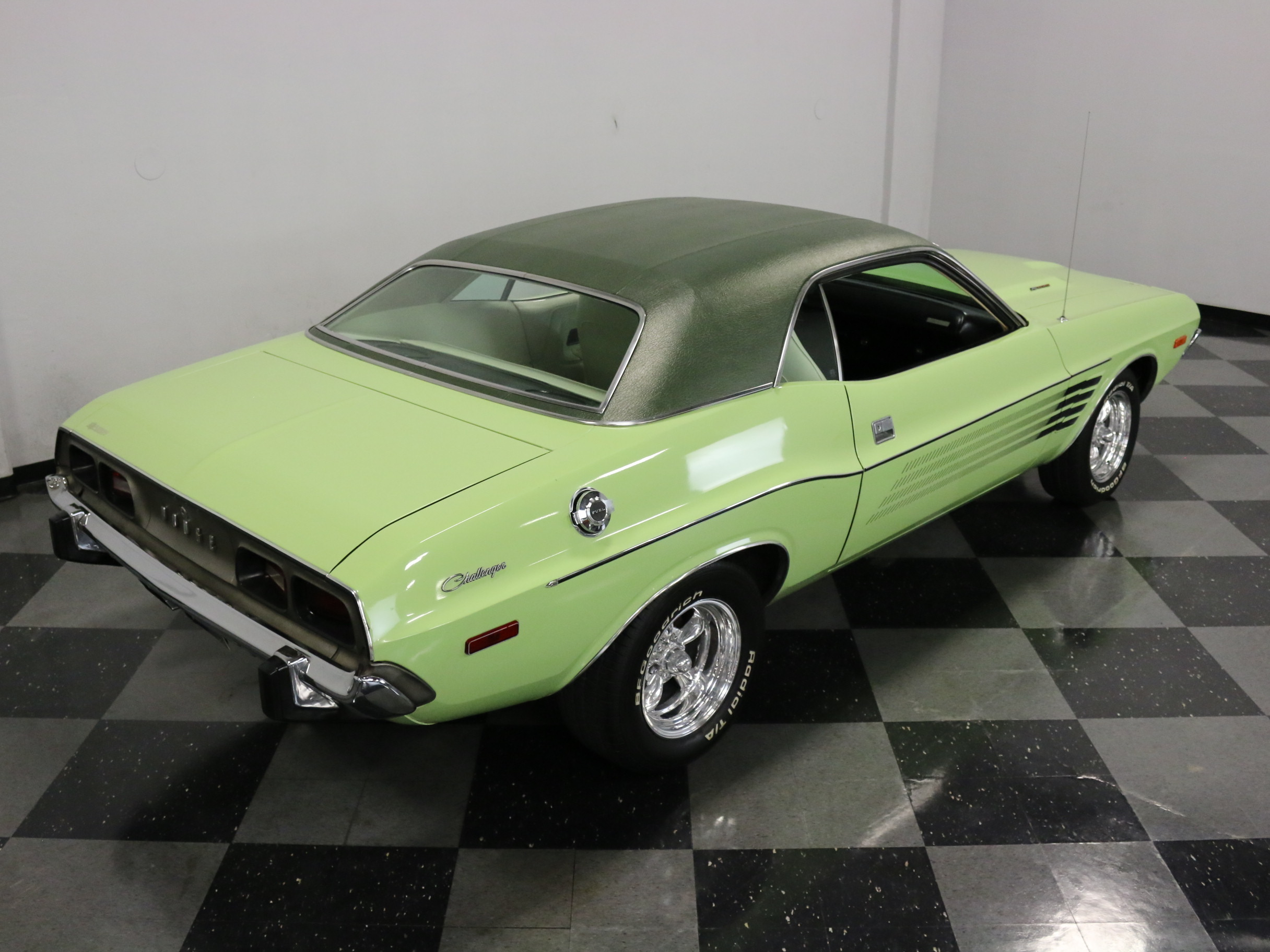 1973 Dodge Challenger Rallye: VERY CLEAN ORIGINAL, BELIEVED 59K ACTUAL MILES, #'S MATCH 340, 4 SPD, BUILDSHEET