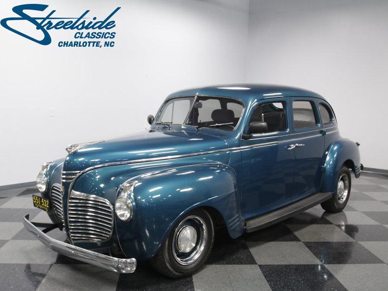 1941 Plymouth 4 DR Sedan