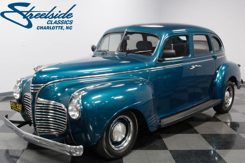 For Sale: 1941 Plymouth 4 DR Sedan