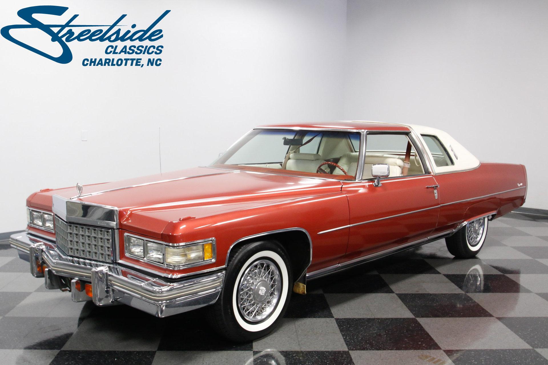 1976 Cadillac Coupe Deville For Sale 75163 Mcg