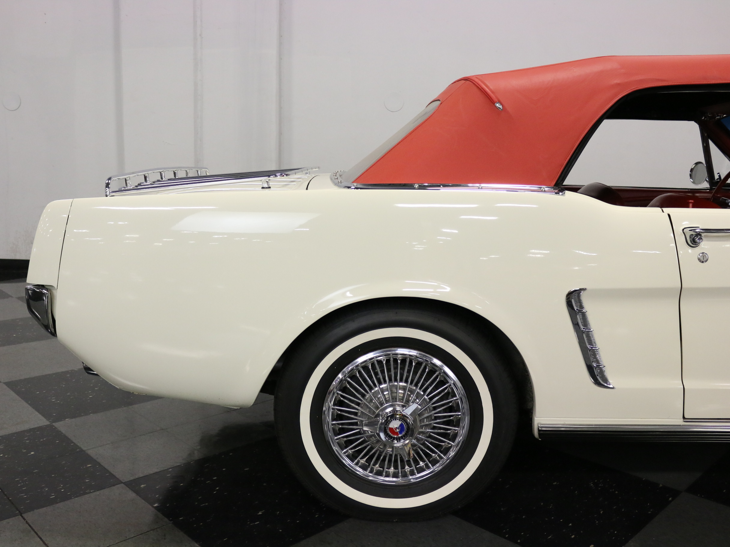 1965 Ford Mustang Convertible: BEAUTIFUL '64 1/2 W/ ORIGINAL DRIVETRAIN, F-CODE 260 V8, AUTO, PS/B, NEW TOP!