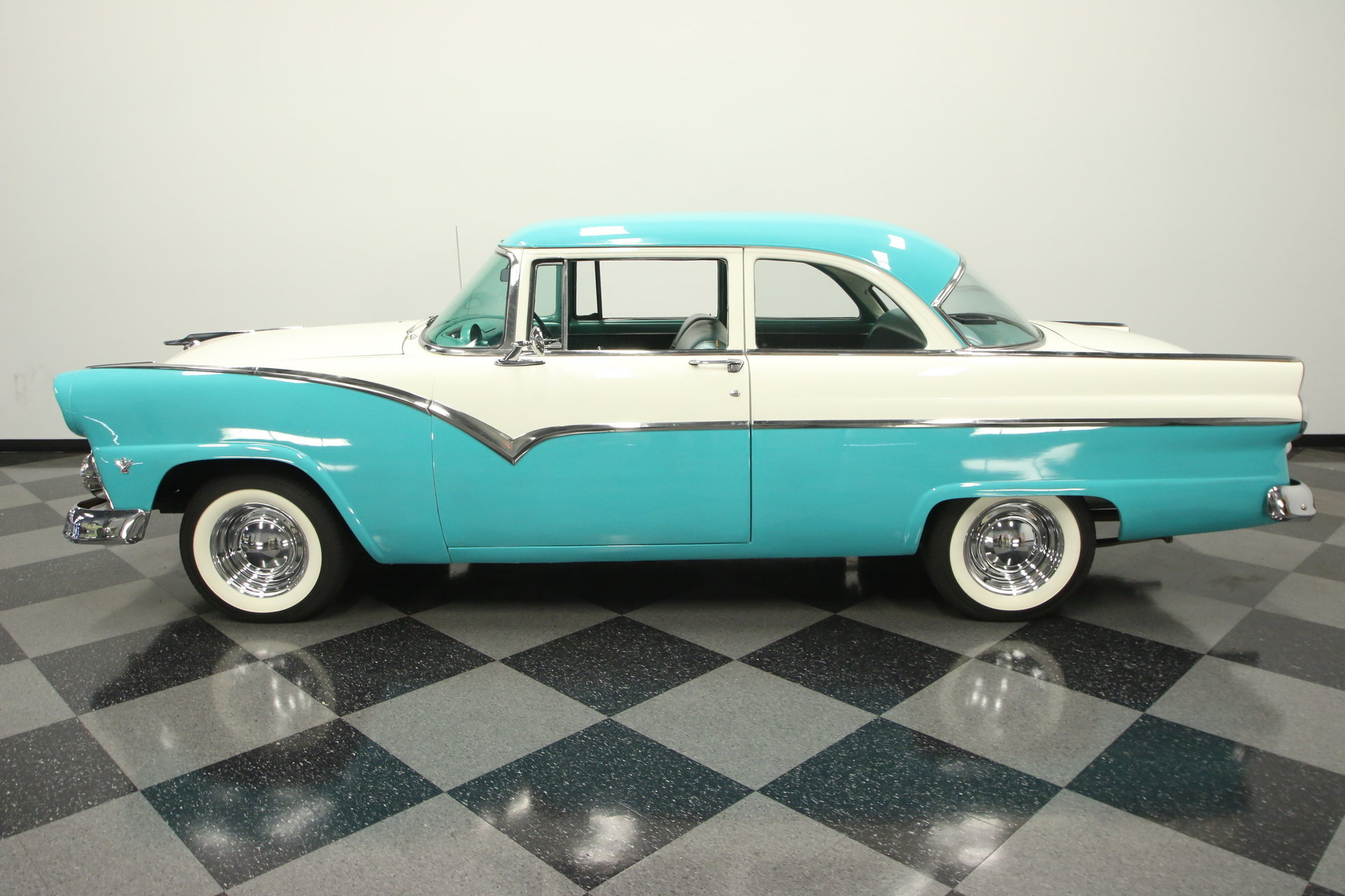 1955 Ford Customline Streetside Classics The Nations Trusted 1953 Crown Victoria Skyliner Show More Photos