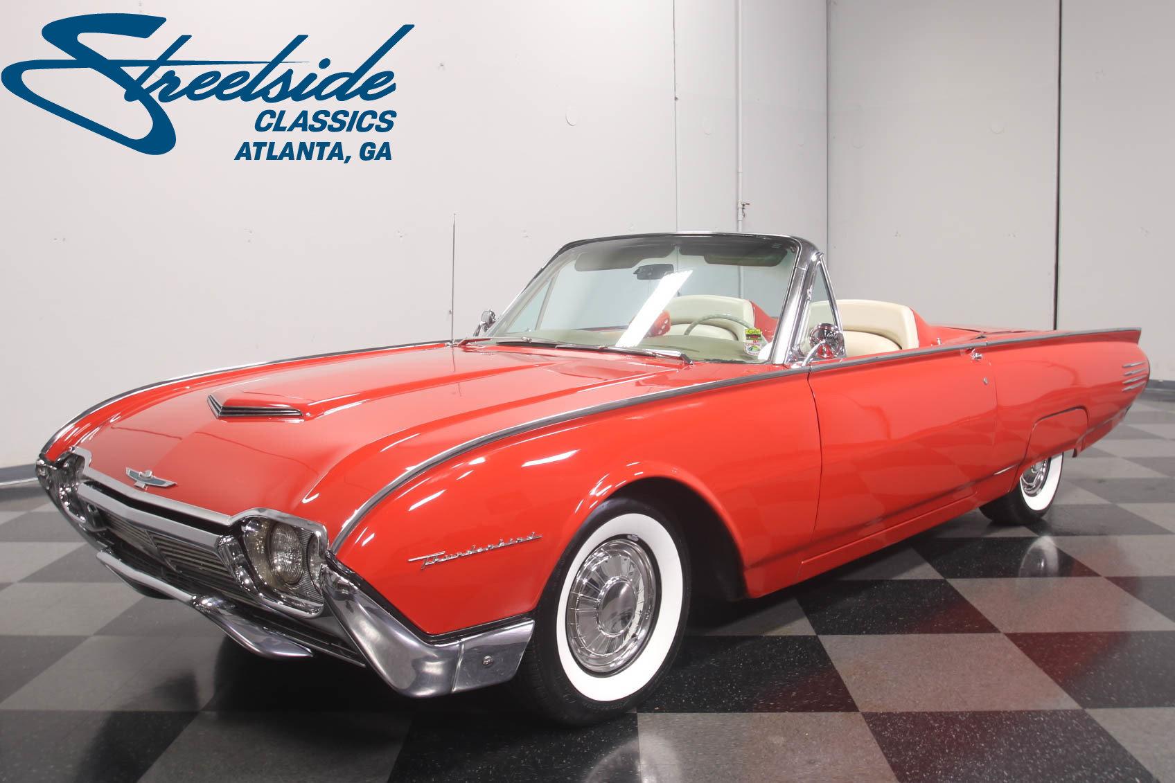 1961 Ford Thunderbird Convertible For Sale 73992 Mcg