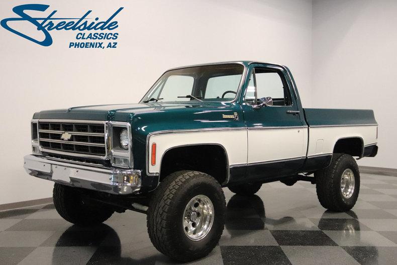 For Sale: 1979 Chevrolet K-10