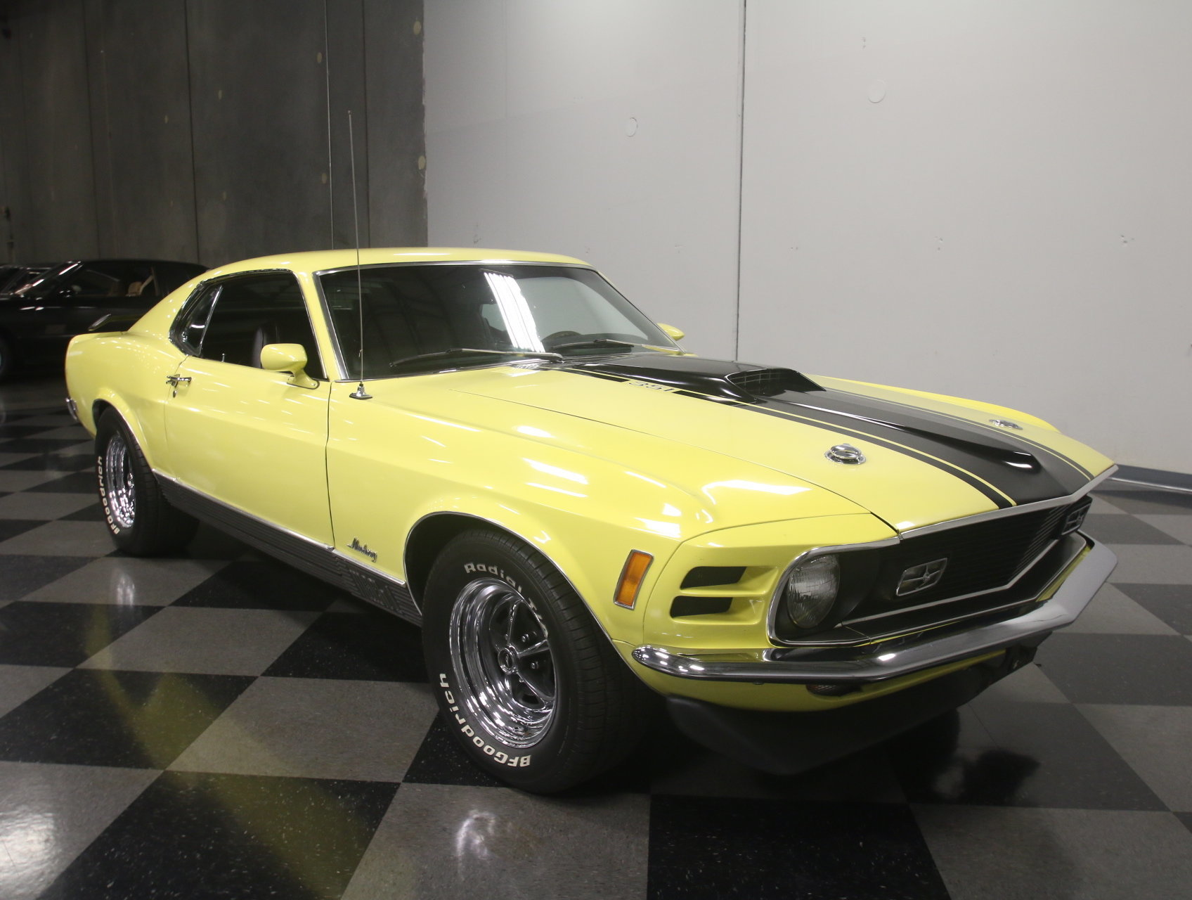 1970 ford mustang mach 1 for sale 74034 mcg. Black Bedroom Furniture Sets. Home Design Ideas