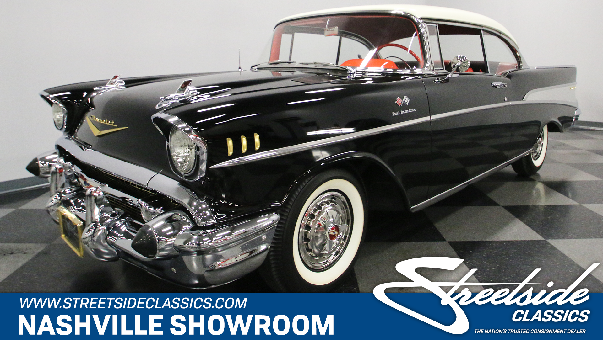 1957 Chevrolet Bel Air Streetside Classics The Nations Trusted Chevy Vin Tag Decoder Play Video