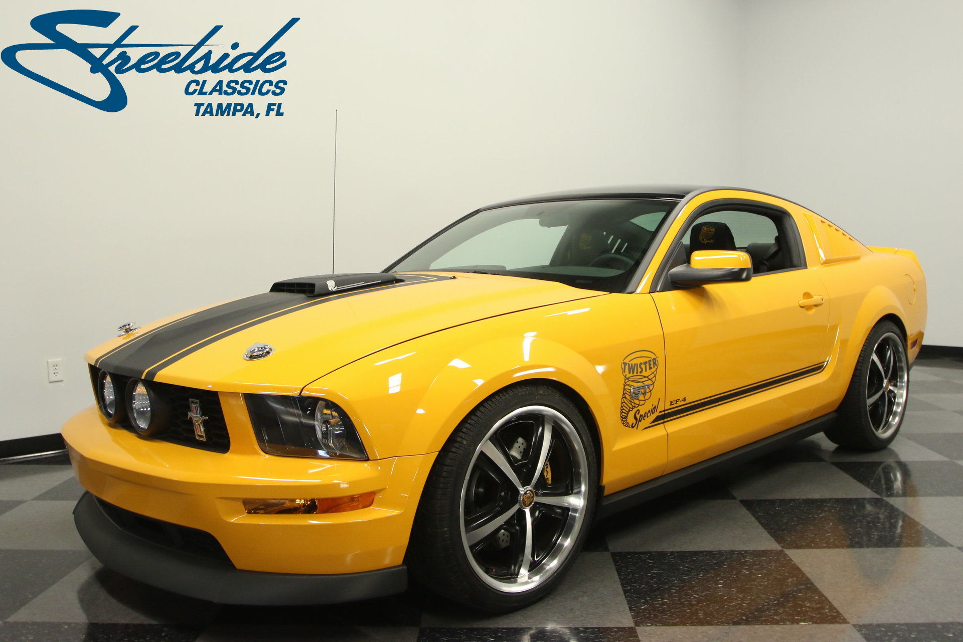 2008 ford mustang twister special ef4 for sale 75419 mcg. Black Bedroom Furniture Sets. Home Design Ideas