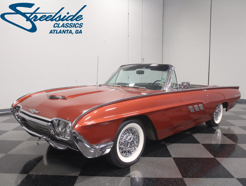 For Sale: 1963 Ford Thunderbird