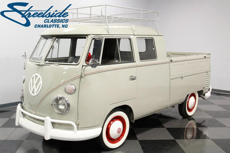For Sale: 1962 Volkswagen Double Cab