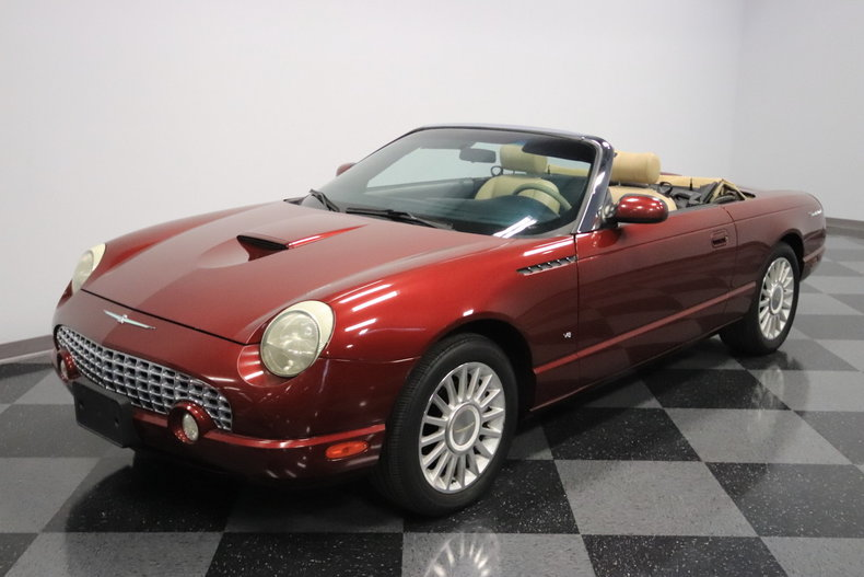 2004 ford thunderbird for sale 79620 mcg. Black Bedroom Furniture Sets. Home Design Ideas