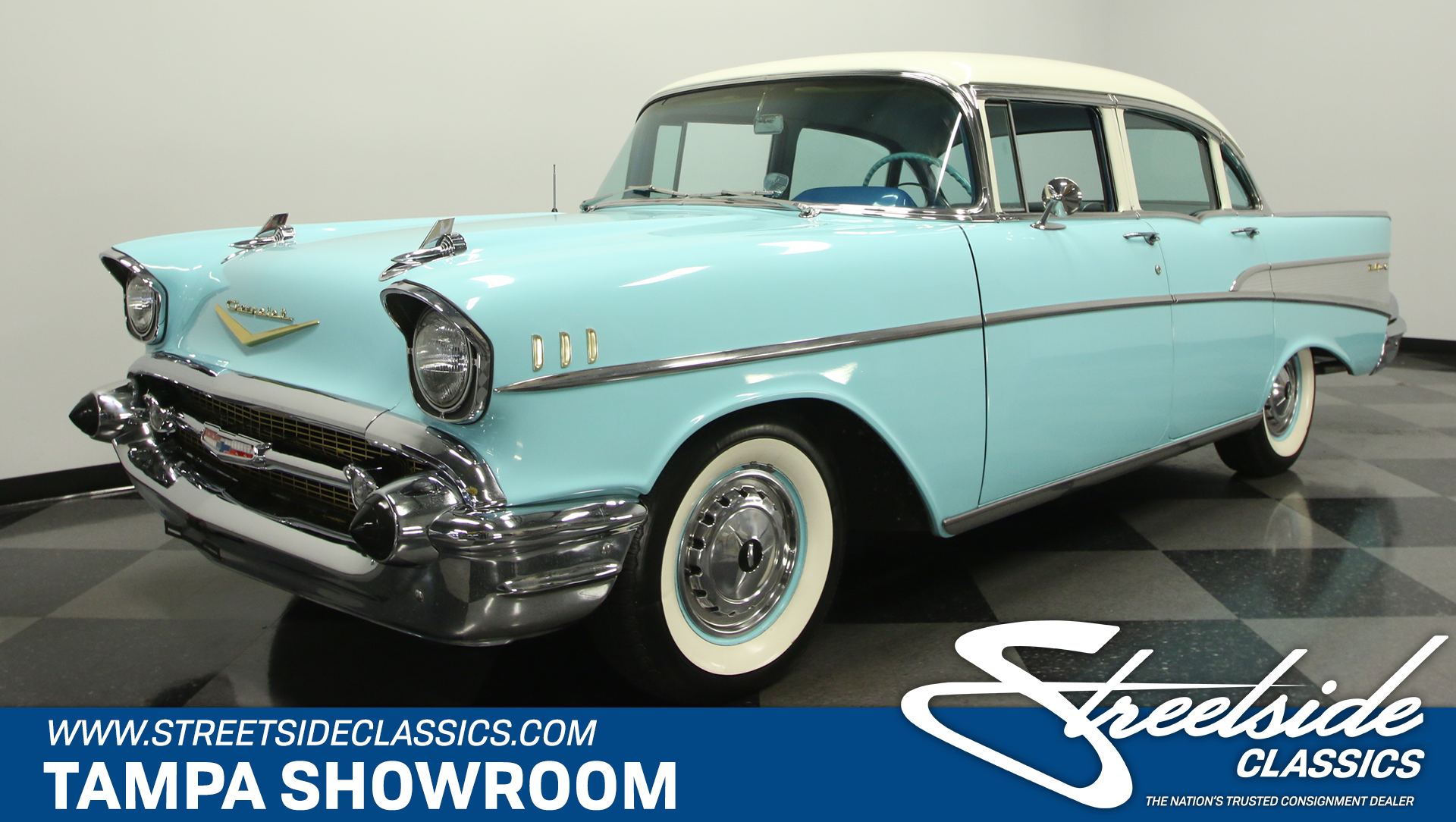 1957 Chevrolet Bel Air 4 Door Sedan For Sale 98025 Mcg Chevy