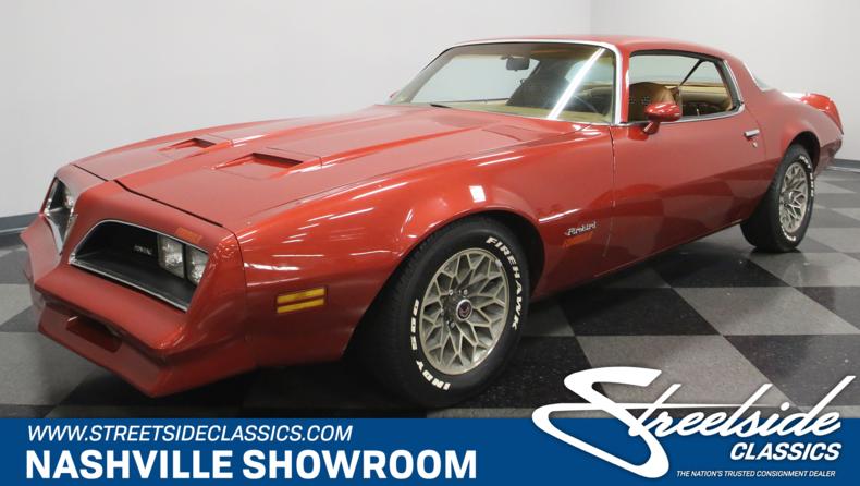 For Sale: 1977 Pontiac Firebird