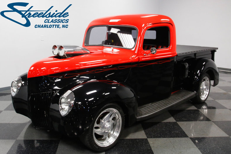 1940 ford pickup streetside classics the nation 39 s trusted classic car consignment dealer. Black Bedroom Furniture Sets. Home Design Ideas