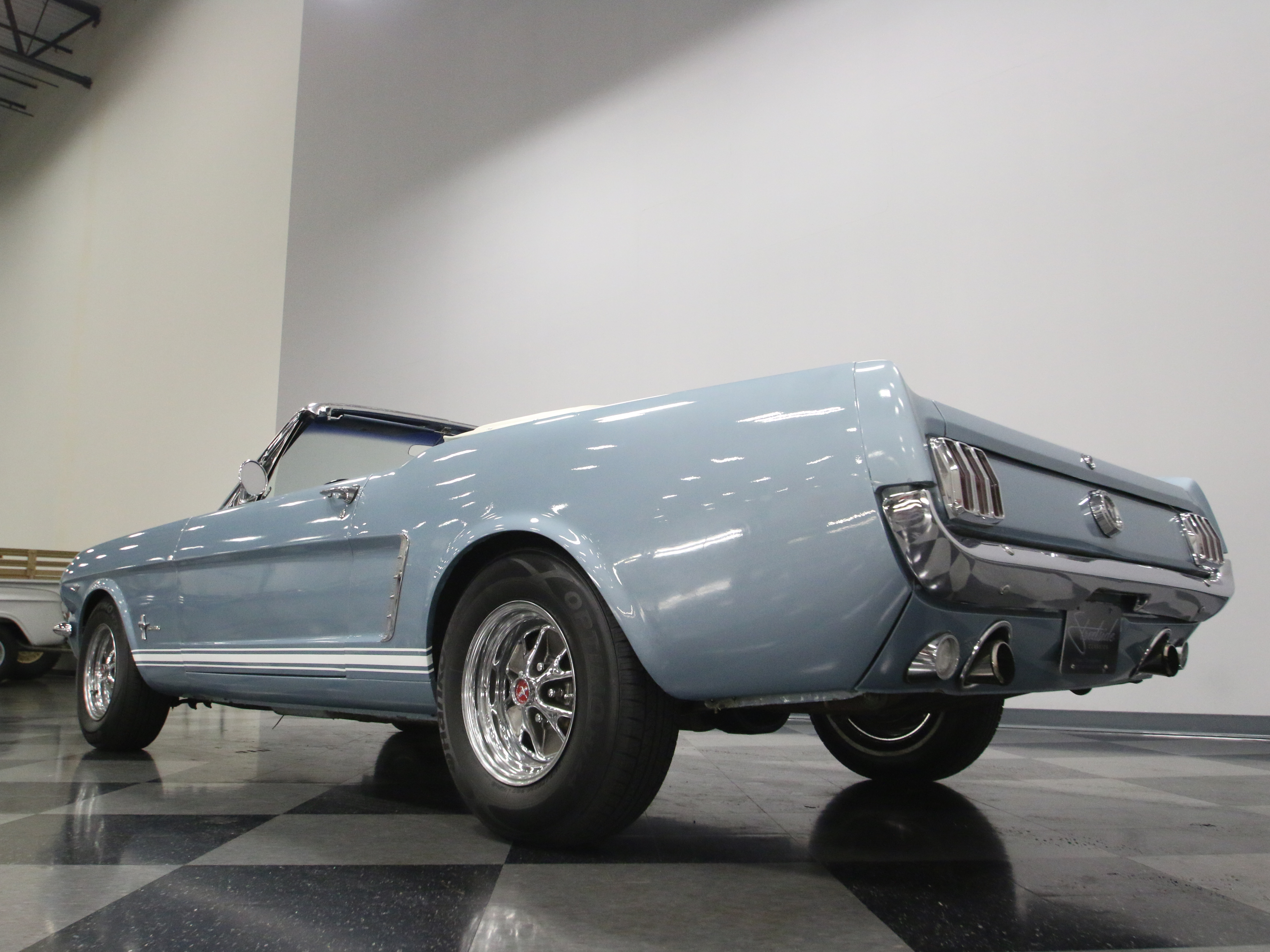 1965 Ford Mustang : NICE A-CODE 289 CONVERTIBLE, 4 SPEED MANUAL, GREAT COLOR COMBO, FRONT DISCS!