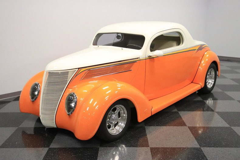 1937 ford 3 window coupe streetside classics classic for 1937 ford 3 window