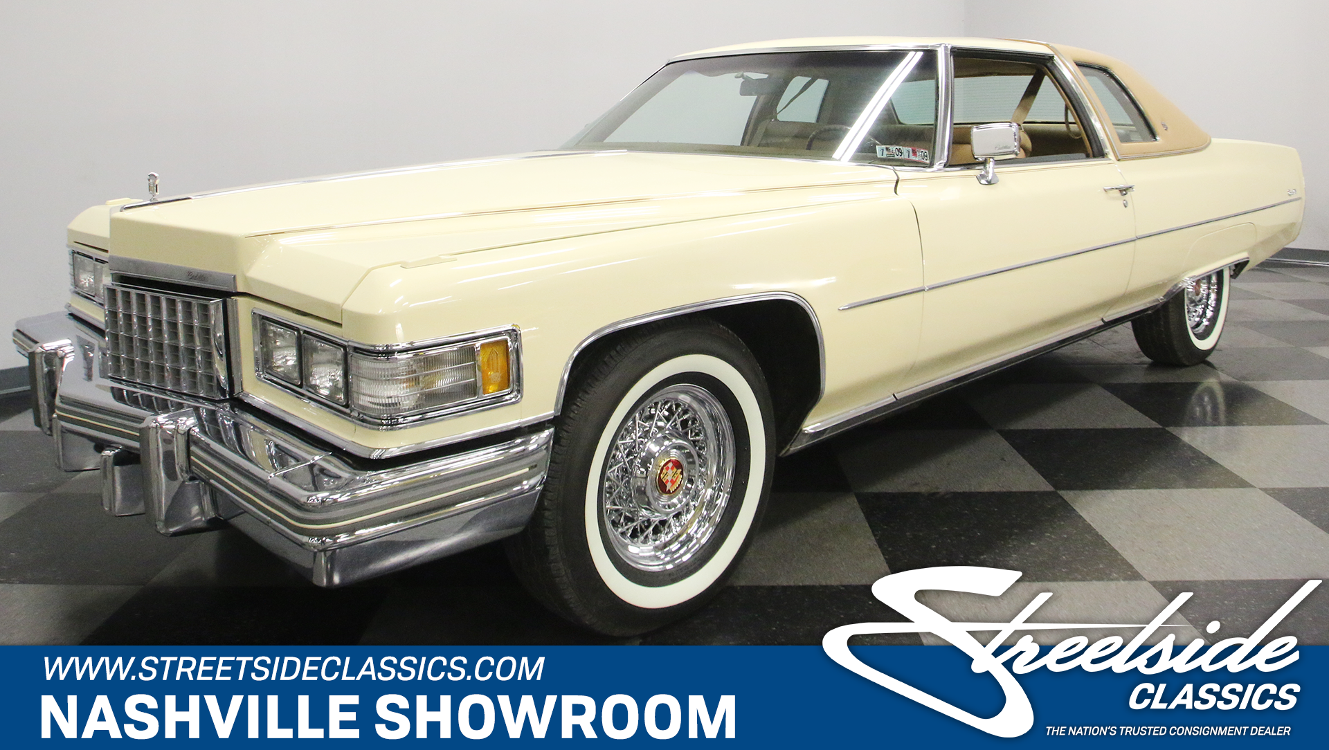 1976 Cadillac Coupe DeVille For Sale ...