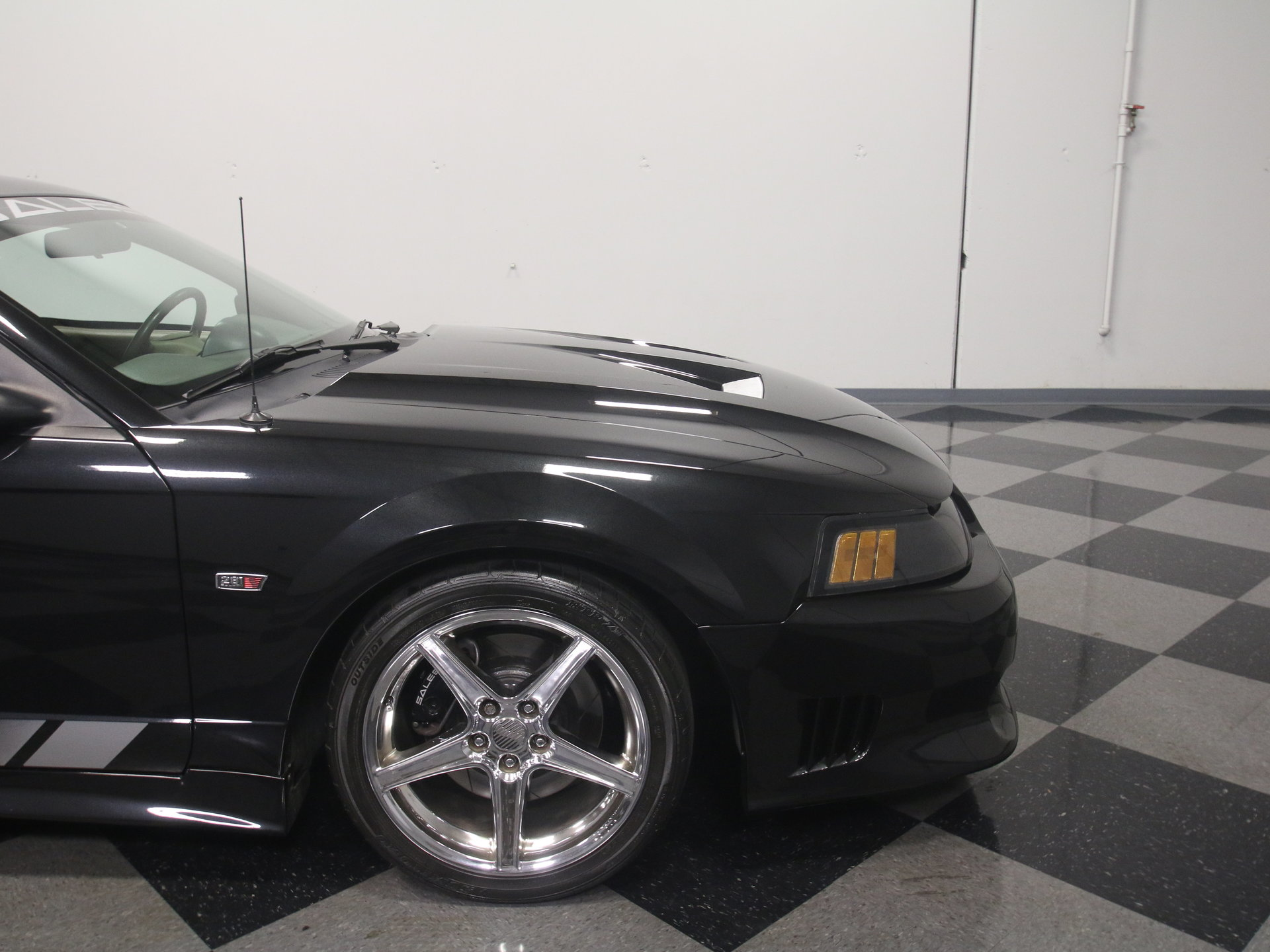 2000 Ford Mustang Saleen: SLICK SALEEN W/UPGRADES, 4.6L V8, WHIPPLE SUPERCHARGER, 5-SPEED, X-PIPE, FAST!!