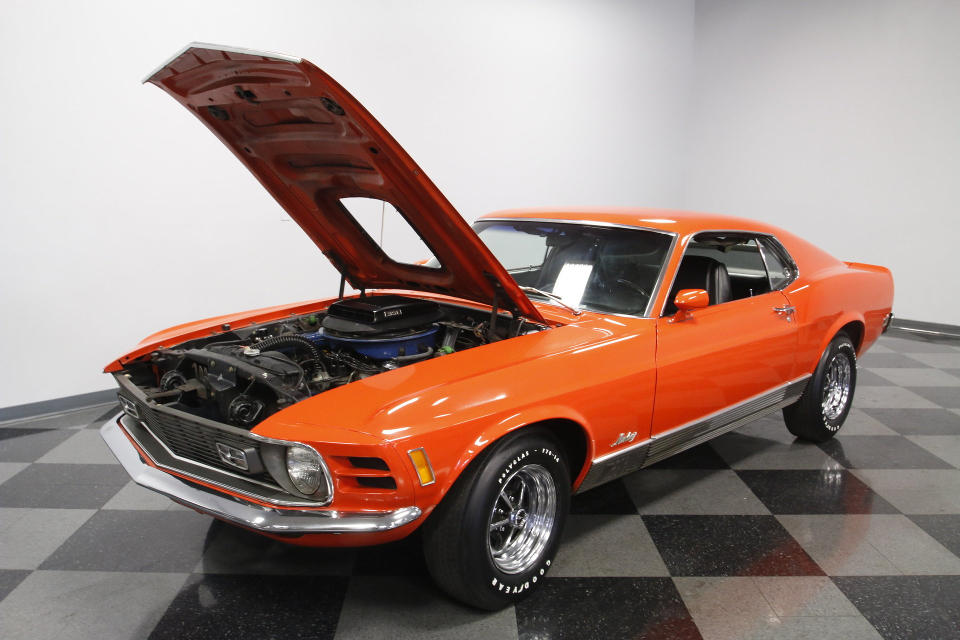 1970 ford mustang mach 1 for sale 76388 mcg. Black Bedroom Furniture Sets. Home Design Ideas