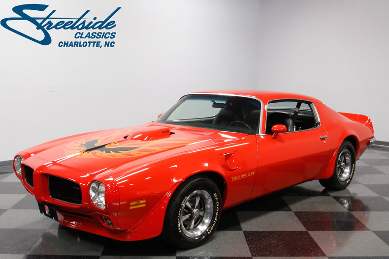 For Sale: 1973 Pontiac Trans Am