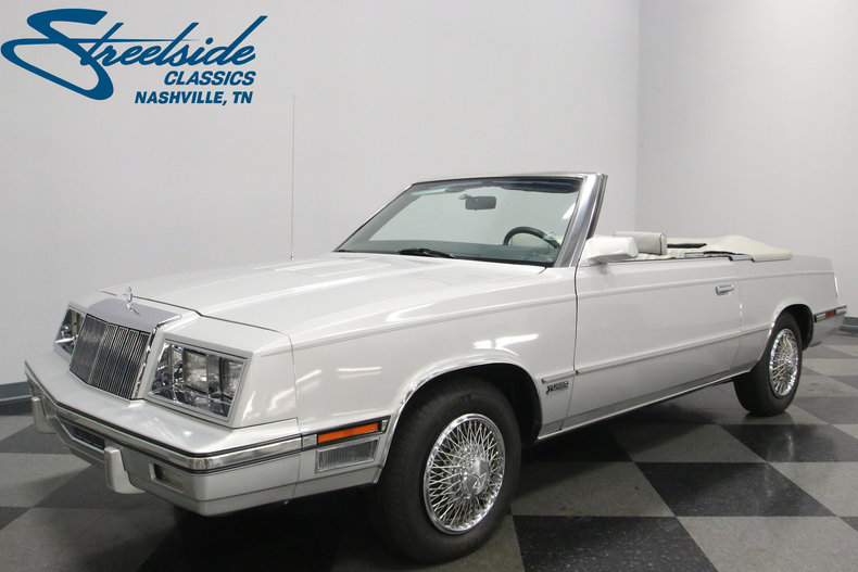 For Sale: 1985 Chrysler LeBaron
