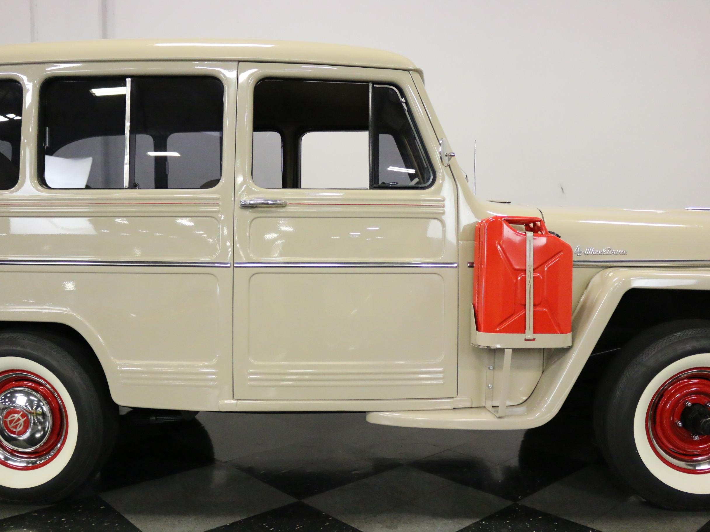 2695-DFW | 1956 Willys Station Wagon | Streetside Classics