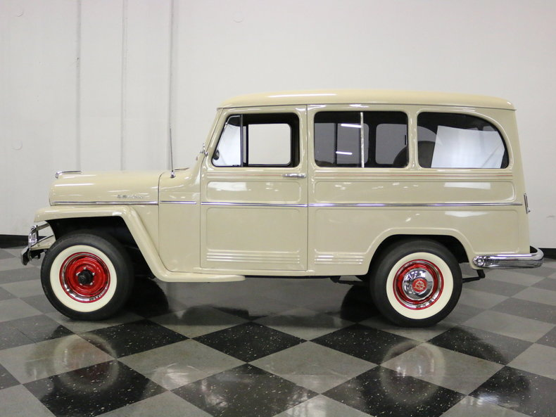 Jeep Dealer In Fort Worth >> 1956 Willys Station Wagon | Streetside Classics - The Nation's Trusted Classic Car Consignment ...