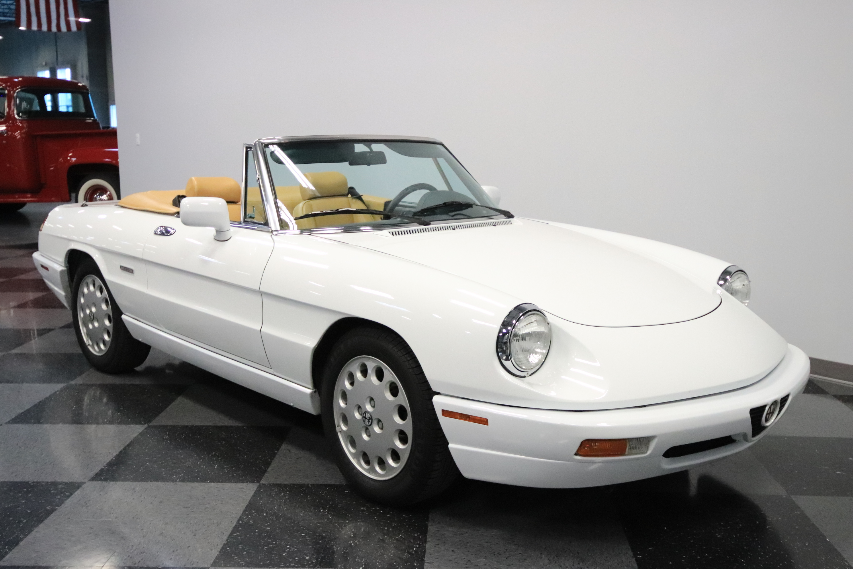 1991 Alfa Romeo Spider Veloce Convertible 2-Door: 2.0L FUEL INJECTED, DISC BRAKS, PS, COLD A/C, CLEAN HISTORY, ONLY 49K ACTUAL KM!
