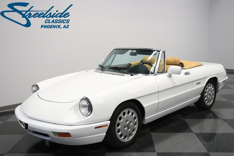 Alfa Romeo Spider Veloce Streetside Classics The Nations - Alfa romeo spider hardtop for sale