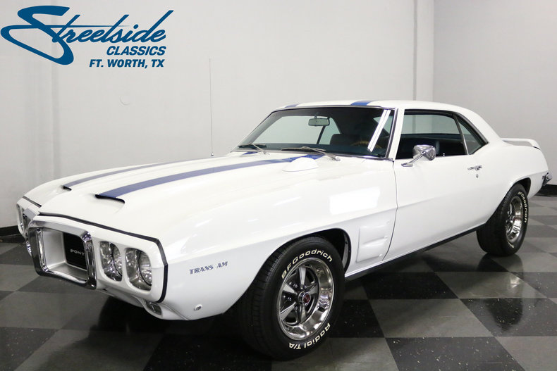 For Sale: 1969 Pontiac Firebird