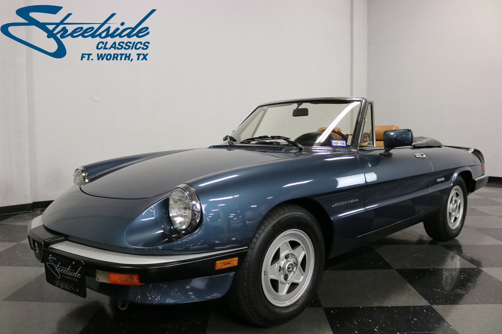 1988 alfa romeo spider veloce for sale 76623 mcg. Black Bedroom Furniture Sets. Home Design Ideas