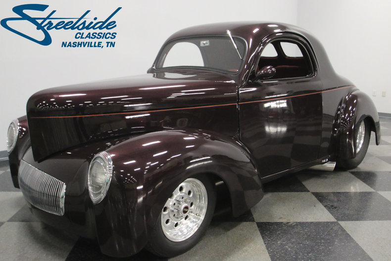 For Sale: 1941 Willys Coupe