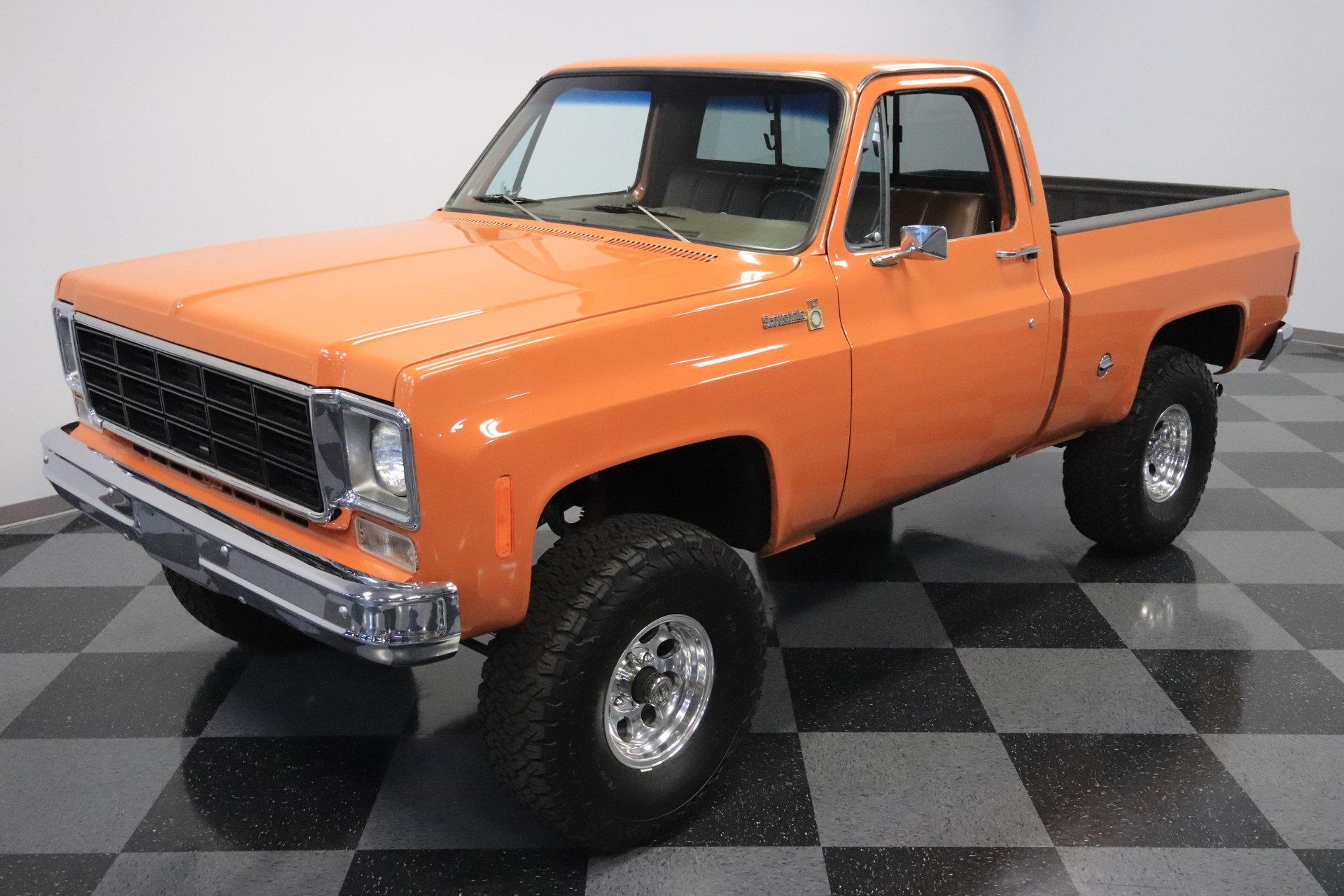 1976 Chevrolet K 10 Scottsdale 4x4 For Sale 94925 Mcg Chevy Truck
