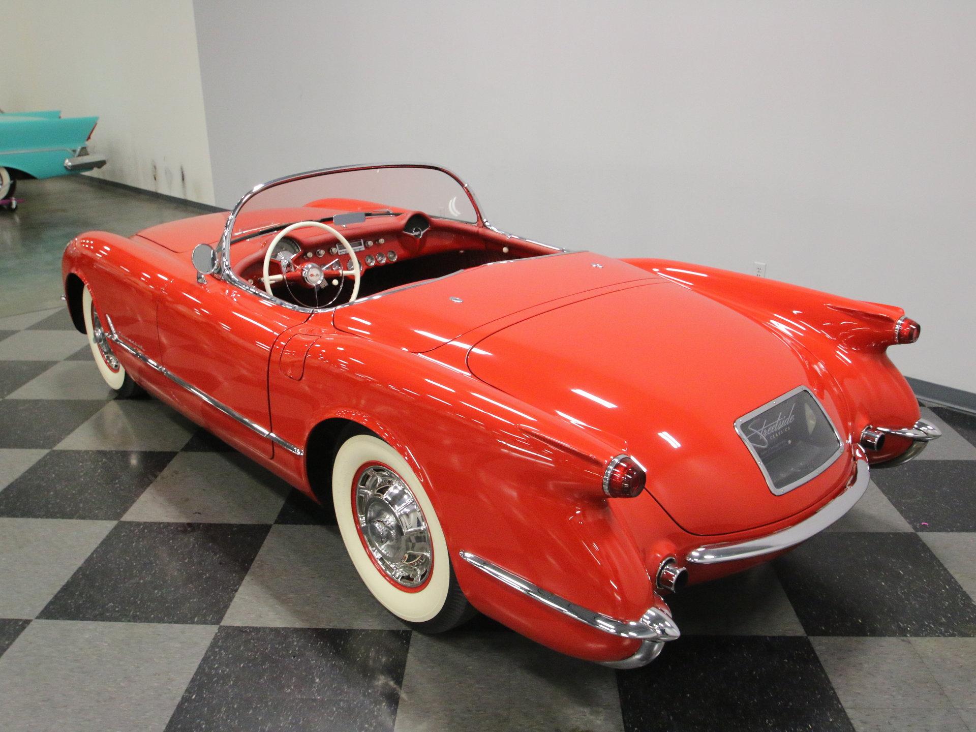 1954 chevrolet corvette for sale 76785 mcg 1954 Mercury Orange 1954 1954 chevrolet corvette for sale